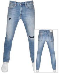 Calvin Klein - Jeans Athletic Taper Jeans Blue - Lyst