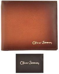 Oliver Sweeney Wrantage Billfold Wallet - Brown