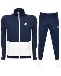 Nike Standard Fit Tracksuit - Blue