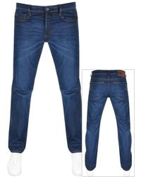 G-Star RAW Raw 3301 Straight Jeans - Blue