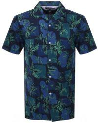 Tommy Hilfiger - Short Sleeved Tropical Shirt - Lyst