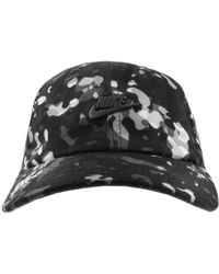 5954fa33 Nike Nike Heritage 86 ''just Do It'' Cap in Black for Men - Lyst