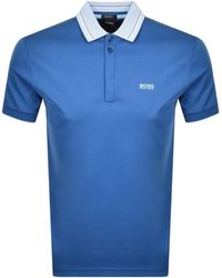 BOSS Athleisure Paddy 1 Polo T Shirt - Blue