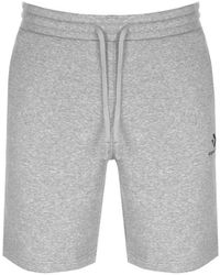 Converse Star Chevron Logo Jersey Shorts - Grey