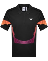 adidas Originals Sport Polo T Shirt - Black