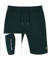 Ralph Lauren Interlock Tape Shorts - Green
