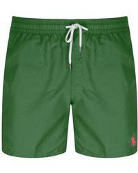 Ralph Lauren Traveler Swim Shorts - Green