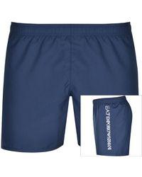 EA7 Men/'s Navy Blue Shorts