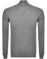Zip Gray Sweatshirt Sweatshirt Grey Half Half Half Sweatshirt Grey Zip Zip Grey Gray UzqpSMV