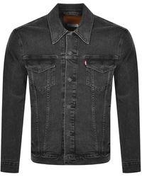 Levi's Denim Trucker Jacket - Black