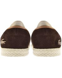 Lacoste - Tombre Shoes Brown - Lyst