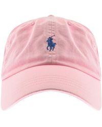 Polo Ralph Lauren Classic Baseball Cap - Pink
