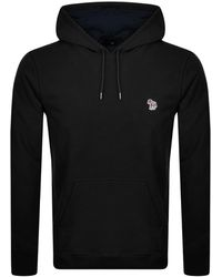 Paul Smith Ps By Pullover Hoodie - Black