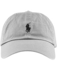 Ralph Lauren - Classic Baseball Cap Grey - Lyst