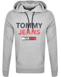 Tommy Hilfiger - Essential Logo Hoodie - Lyst