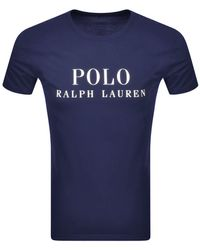 Ralph Lauren - Crew Neck T Shirt - Lyst