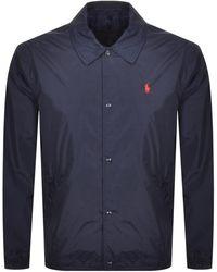 Ralph Lauren Polo Coaches Jacket - Blue