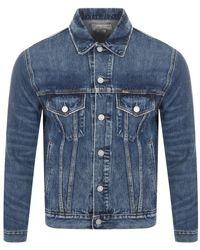 Ralph Lauren Icon Trucker Denim Jacket - Blue