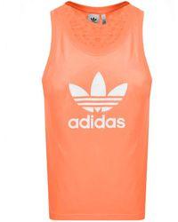 adidas Originals Trefoil Vest - Orange