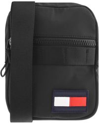 Tommy Hilfiger Mini Reporter Shoulder Bag - Black