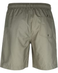 Fred Perry - Textured Swim Shorts Green - Lyst