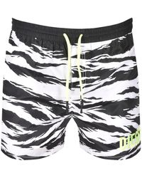 DIESEL - Wave Swim Shorts - Lyst