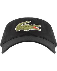 Lacoste Crocodile Cap - Black
