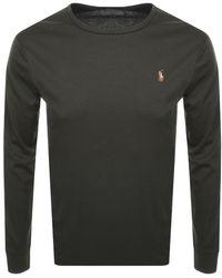 Ralph Lauren Long Sleeved T Shirt - Green