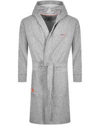 Superdry Laundry Sweat Robe - Gray