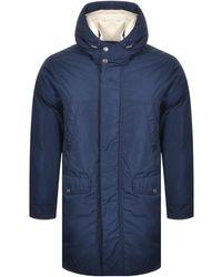 Michael Kors Heavy Weight Parka Jacket - Blue