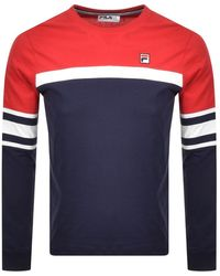 Fila Baden T Shirt - Blue