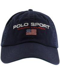 Ralph Lauren Polo Sport Baseball Cap Navy - Blue