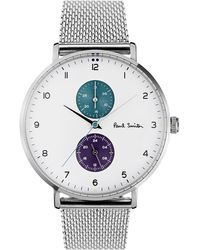 Paul Smith Track Watch - Metallic