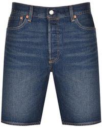 Levi's Original Fit 501 Denim Shorts - Blue