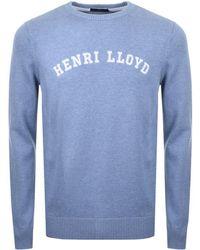 Henri Lloyd - Gell Knit Jumper Blue - Lyst