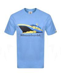 BBCICECREAM Boat T Shirt - Blue