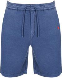 Ralph Lauren Jersey Shorts - Blue