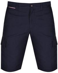 Tommy Hilfiger John Cargo Twill Shorts - Blue