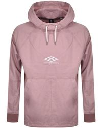 Pretty Green X Umbro Hooded Top - Pink