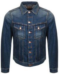 Nudie Jeans - Jeans Billy Denim Jacket Blue - Lyst