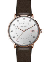 Paul Smith Gauge Watch - Brown