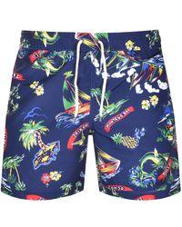 Ralph Lauren Traveler Swim Shorts - Blue