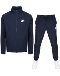 Nike Basic Tracksuit - Blue