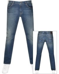 Emporio Armani Emporio J45 Regular Fit Jeans - Blue