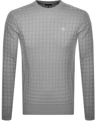 Neu G-Star Raw V Knit Pullover Gr XXL Shirts Langarm Sweatshirt Grau RAR