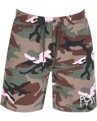 Ralph Lauren Camouflage Shorts - Green