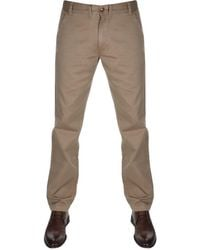 Barbour - Neuston Chino Trousers Brown - Lyst