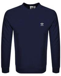 Essential Sweatshirt Navy Blue
