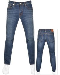 Paul Smith Ps By Tapered Fit Jeans - Blue