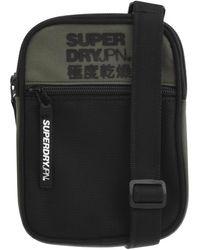 Superdry Sports Pouch Shoulder Bag - Black